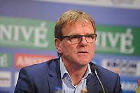 VOETBAL: HEERENVEEN: Abe Lenstra Stadion 21-05-2015, SC Heerenveen - Feyenoord, uitslag 1-0, Heerenveen trainer/coach Dwight Lodeweges, ©foto Martin de Jong