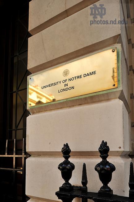 London Centre..Photo by Matt Cashore/University of Notre Dame