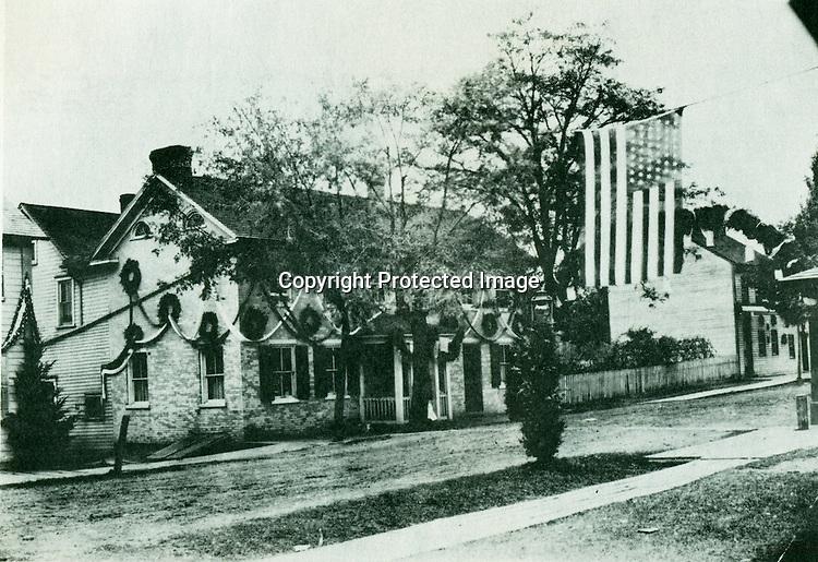 Bernard W. Litzinger's house in Loretto, PA - 1899<br /> <br /> Conrad&gt;Leonard&gt;Anthony&gt;William&gt;Bernard W.