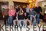Kerry Referees Society enjoying a Christmas Night Out at the Imperial Hotel on Saturday. Pictured Front l-r Michael Fox O'Connor, Gert Kruis, Adrian Burke, Eddie O'Mahony, Adrian O'Shea, Anthony Morrison.  Back l-r Willie O'Gorman, Stuart Heffernan, Caroline Healy, Kevin O'Regan, Brian Healy, Brendan Kelly, Derek O'Shea