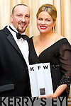Pictured at Kerry Fashion Weekend awards held in the Carlton hotel, Tralee on Saturday evening, were l-r: Dan Nolan and Diane Jeffers (Jasmine Boutique, Tralee and Killarney)