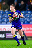 Picture by Alex Whitehead/SWpix.com - 08/02/2018 - Rugby League - Betfred Super League - Huddersfield Giants v Warrington Wolves - John Smith's Stadium, Huddersfield, England - Warrington's Kevin Brown.