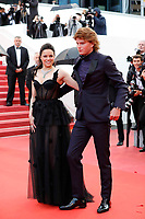 Michelle Rodriguez and  Jordan Barrett attend the screening of 'Blackkklansman' during the 71st annual Cannes Film Festival at Palais des Festivals on May 14, 2018 in Cannes, France. <br /> CAP/GOL<br /> &copy;GOL/Capital Pictures