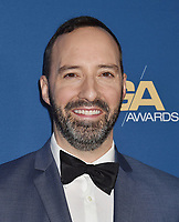 HOLLYWOOD, CA - FEBRUARY 02: Tony Hale attends the 71st Annual Directors Guild Of America Awards at The Ray Dolby Ballroom at Hollywood & Highland Center on February 02, 2019 in Hollywood, California.<br /> CAP/ROT/TM<br /> ©TM/ROT/Capital Pictures