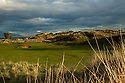 4th hole/West Course/Saunton Golf Club.<br />