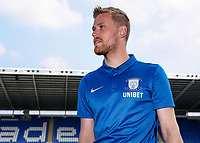 Preston North End's Jayden Stockley pictured before the match<br /> <br /> Photographer Andrew Kearns/CameraSport<br /> <br /> The EFL Sky Bet Championship - Reading v Preston North End - Saturday 30th March 2019 - Madejski Stadium - Reading<br /> <br /> World Copyright © 2019 CameraSport. All rights reserved. 43 Linden Ave. Countesthorpe. Leicester. England. LE8 5PG - Tel: +44 (0) 116 277 4147 - admin@camerasport.com - www.camerasport.com