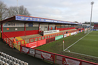 The North Terrace during Stevenage vs Reading, Emirates FA Cup Football at the Lamex Stadium on 6th January 2018