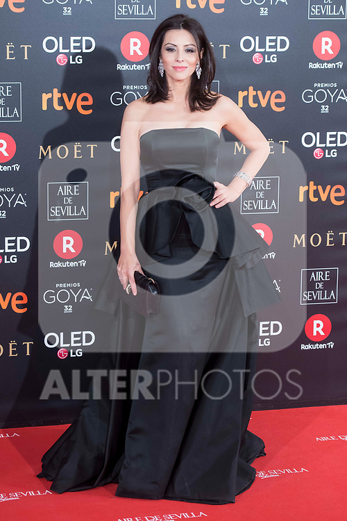 Ana Alvarez attends red carpet of Goya Cinema Awards 2018 at Madrid Marriott Auditorium in Madrid , Spain. February 03, 2018. (ALTERPHOTOS/Borja B.Hojas)