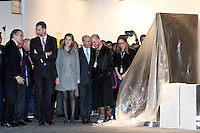 Prince Felipe of Spain and Princess Letizia of Spain  attend the inauguration of ARCO Contemporary Art Fair 2013 at Ifema. February 14, 2013. (ALTERPHOTOS/Caro Marin) /NortePhoto