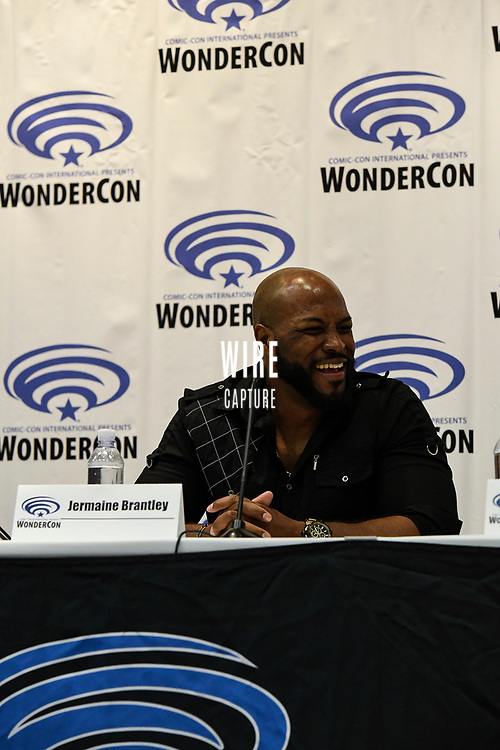 Jermaine Brantley at Wondercon in Anaheim Ca. March 31, 2019