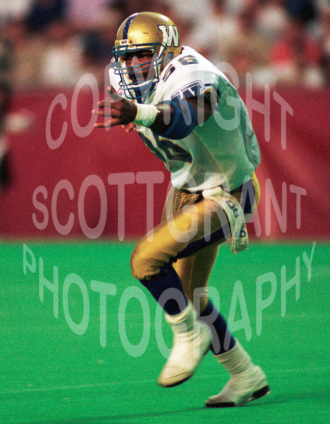 Elfrid Payton Winnipeg Blue Bombers. Copyright photograph Scott Grant