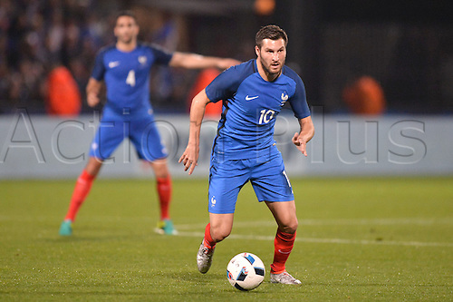 04.06.2016. Stade Saint Symphorien, Metz, France. International football freindly,France versus Scotland.  ANDRE PIERRE GIGNAC