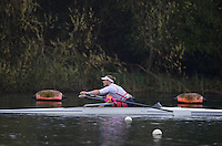 Caversham. Berkshire. UK<br /> ASM M1X,  Laurence WHITELEY. sculling during the 2016 GBRowing, Para Rowing Media Day, UK GBRowing Training base near Reading, Berkshire.<br /> <br /> Friday  15/04/2016<br /> <br /> [Mandatory Credit; Peter SPURRIER/Intersport-images]