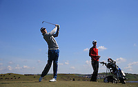 Liam Copp during Round Two of the West of England Championship 2016, at Royal North Devon Golf Club, Westward Ho!, Devon  23/04/2016. Picture: Golffile | David Lloyd<br /> <br /> All photos usage must carry mandatory copyright credit (&copy; Golffile | David Lloyd)