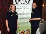 Organizers Fiona Lee Gargan and Ruth Corrigan pictured at the white collar boxing in the Westcourt Hotel in aid of Drogheda Animal Rescue. Photo:Colin Bell/pressphotos.ie