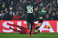 Wojciech Szscesny of Juventus , Filip Djuricic of Sassuolo <br /> Reggio Emilia 10-2-2019 Stadio Mapei, Football Serie A 2018/2019 Sassuolo - Juventus<br /> Foto Andrea Staccioli / Insidefoto