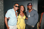 "BJ Coleman, Vivica A. Fox and Omar ""Slim"" White Attend Vivica A. Fox Hosts Private Celebration for the 31st Birthday of Publicist BJ Coleman and the Launch of www.burgersandbourbon.com Sponsored by Pisco Portón,  at The Marcel Hotel's Polar Lounge, NY 8/25/11"