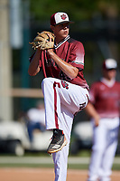 Cj Neese Jr during the WWBA World Championship at the Roger Dean Complex on October 20, 2018 in Jupiter, Florida.  Cj Neese Jr is a shortstop from Greensboro, North Carolina who attends Grimsley High School and is committed to North Carolina State.  (Mike Janes/Four Seam Images)