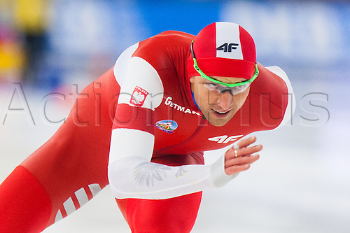 January 29th 2017, Sportforum, Berlin, Germany; ISU Speed Skating World Cup;  ISU Speed Skating World Cup  1000m dywizja B;  Zbigniew Brodka (POL)