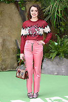 "Maisie Williams<br /> arriving for the ""Early Man"" world premiere at the IMAX, South Bank, London<br /> <br /> <br /> ©Ash Knotek  D3369  14/01/2018"