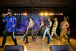 HOLLYWOOD, FL - OCTOBER 25: Ray Simpson, Jim Newman, Eric Anzalone, Bill Whitefield, Alex Briley and Felipe Rose of The Village People perfoms at the 13th Annual Footy's Bubbles & Bones Gala at Westin Diplomat Resort and Spa on October 25, 2013 in Hollywood, Florida. (Photo by Johnny Louis/jlnphotography.com)