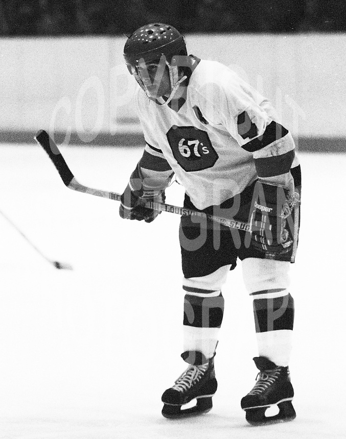 Jim Fox Ottawa 67's 1980. Photo Scott Grant