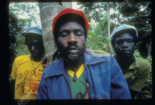 Burning Spear. Ocho Rios, Jamaica. March 1976
