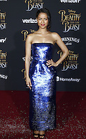 www.acepixs.com<br /> <br /> March 2 2017, LA<br /> <br /> Gugu Mbatha-Raw arriving at the premiere of Disney's 'Beauty And The Beast' at the El Capitan Theatre on March 2, 2017 in Los Angeles, California.<br /> <br /> By Line: Famous/ACE Pictures<br /> <br /> <br /> ACE Pictures Inc<br /> Tel: 6467670430<br /> Email: info@acepixs.com<br /> www.acepixs.com