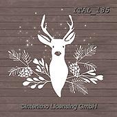 Alberta, CHRISTMAS SYMBOLS, WEIHNACHTEN SYMBOLE, NAVIDAD SÍMBOLOS, paintings+++++,ITAL185,#xx# ,deer,deers