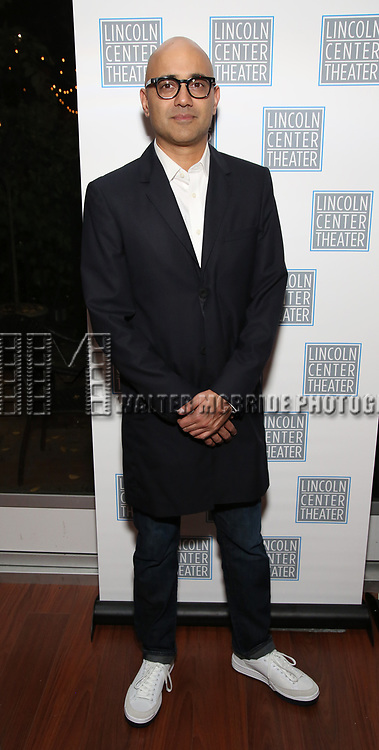 Ayad Akhtar attends the Opening Night After Party for the Lincoln Center Theater Production of 'Junk' on November 2, 2017 at Tavern On The Green in New York City.