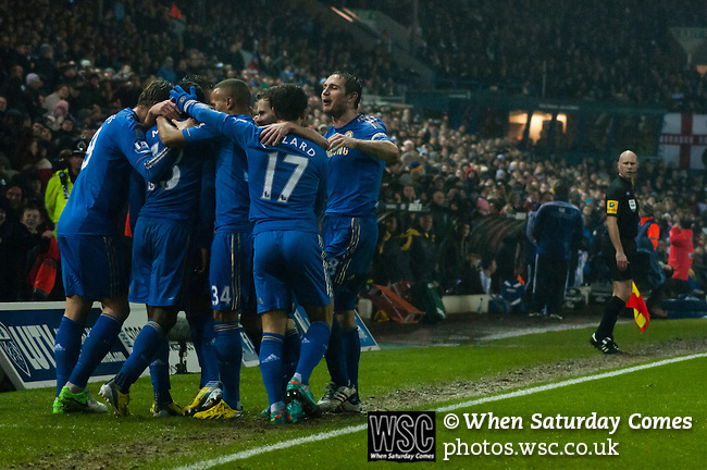 Leeds United 1 Chelsea 5, 19/12/2012. Elland Road, Capital One cup quarter-final. Photo by Paul Thompson.