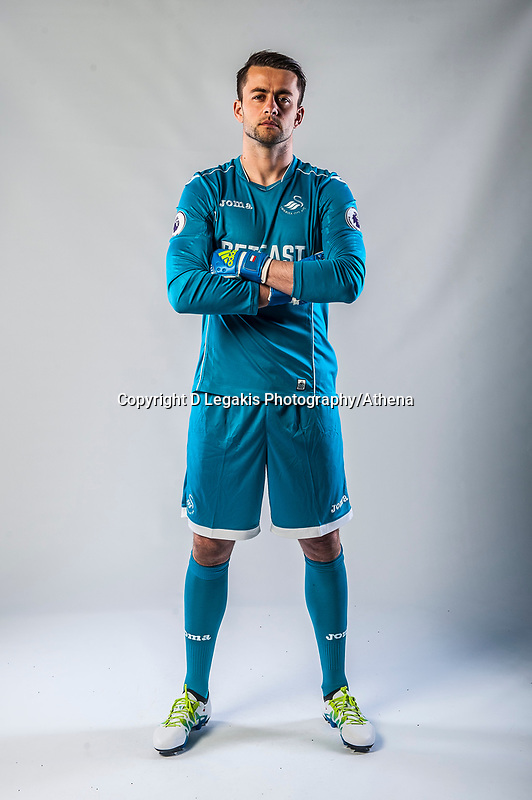 Friday  15 July 2016<br />Pictured: Lukasz Fabianski of Swansea City <br />Re: Swansea City FC  Joma Kit photographs for the 2016-2017 season