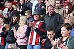 Sheffield United fans during the Championship match at Bramall Lane Stadium, Sheffield. Picture date 16th September 2017. Picture credit should read: Jamie Tyerman/Sportimage