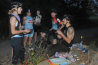 The final Feat was a short track race on a rugged course by the river. Candy and Bourbon fueled the ride back to town.