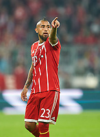 Arturo VIDAL, FCB 23  Halbfigur , Aktion, Einzelbild, Portrait, Portraet, Einzelaktion <br />
