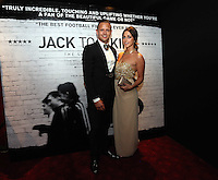 Pictured: Club ambassador and former footballer Lee Trundle with his girlfriend. Friday 12 September 2014<br />