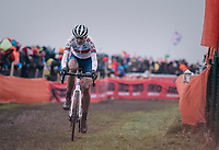 Helen Wyman (GBR)<br /> <br /> Women&rsquo;s Elite race<br /> <br /> UCI 2019 Cyclocross World Championships<br /> Bogense / Denmark<br /> <br /> &copy;kramon