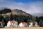 Fort Baker, Golden Gate National Recreation Area, Marin County, California Victorian era Officer houses at Fort Baker Military Reservation, Golden Gate N.R.A., Marin County, California
