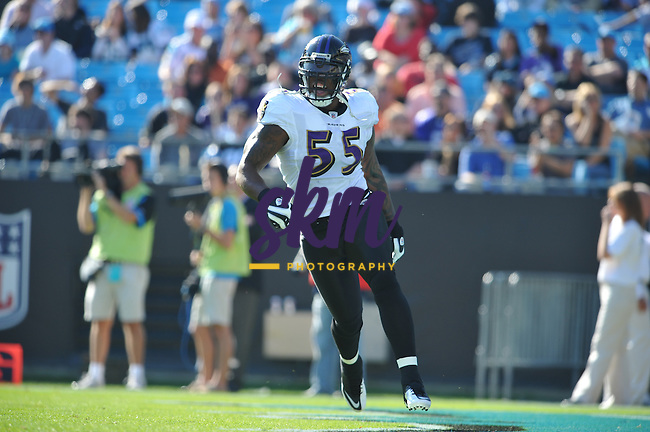 In a day of records, the Ravens defeat the Carolina Panthers to improve to 7-3 on the season, as both Ray Lewis and Ed Reed had milestone interceptions in the 4th quarter,while Derrick Mason and TJ Houshmandzadeh had record setting receptions in the 37-13 victory.