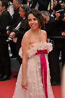 """CANNES, FRANCE. May 22, 2019: Elodie Bouchez at the gala premiere for """"Oh Mercy!"""" at the Festival de Cannes.<br /> Picture: Paul Smith / Featureflash"""