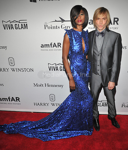 NEW YORK, NY - JUNE 9: Hawa Diawara, Marc Bouwer attends the 7th Annual amfAR Inspiration Gala at Skylight at Moynihan Station on June 9, 2016 in New York City.. Credit: John Palmer / MediaPunch