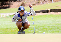 Caryn Khoo of Auckland. Day One of the Toro Interprovincial Women's Championship, Sherwood Golf Club, Wjangarei,  New Zealand. Monday 4 December 2017. Photo: Simon Watts/www.bwmedia.co.nz