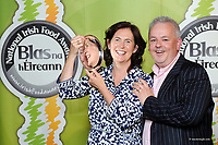 Bernie and Graham Canning, Blast and Wilde, Slane, Co. Meath, supreme champion  at  the Annual Blas na hEireann Irish Food Awards 2014 at The Dingle Food Festival. . Picture: MacMonagle , Killarney <br /> <br /> <br /> &copy; Photo by Don MacMonagle - macmonagle.com<br /> info@macmonagle.com