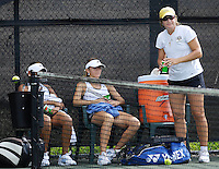 The opening day of the University of Miami Fall Classic tennis tournament at Coral Gables, Florida on Friday, November 10, 2006...Women's Tennis Coach Ronni Bernstein<br />