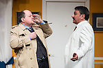 """Antonio M. and Jose Luis Gago at """"Usted puede ser un asesino"""" Theater play in Muñoz Seca Theater, Madrid, Spain, September 07, 2015. <br /> (ALTERPHOTOS/BorjaB.Hojas)"""