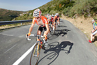 Igor Anton, Gorka Verdugo and Amets Txurruka during the stage of La Vuelta 2012 between Barakaldo and Valdezcaray.August 21,2012. (ALTERPHOTOS/Paola Otero) /NortePhoto.com