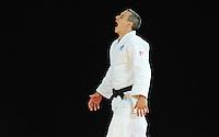 Scotland's Euan Burton prepares for his men's -100kg preliminary round of 16 contest against Seychelles' Evans Ouko Kengara<br /> <br /> Photographer Chris Vaughan/CameraSport<br /> <br /> 20th Commonwealth Games - Day 3 - Saturday 26th July 2014 - Judo - SECC - Glasgow - UK<br /> <br /> © CameraSport - 43 Linden Ave. Countesthorpe. Leicester. England. LE8 5PG - Tel: +44 (0) 116 277 4147 - admin@camerasport.com - www.camerasport.com