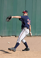 September 15, 2004:  Pitcher Kyle Davies of the Richmond Braves, Triple-A International League affiliate of the Atlanta Braves, during a game at Dunn Tire Park in Buffalo, NY.  Photo by:  Mike Janes/Four Seam Images