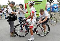 Yukihiro Doi attends the journalist before the stage of La Vuelta 2012 beetwen Santander-Fuente De.September 5,2012. (ALTERPHOTOS/Acero) /NortePhoto.com<br /> <br /> **CREDITO*OBLIGATORIO** *No*Venta*A*Terceros*<br /> *No*Sale*So*third* ***No*Se*Permite*Hacer Archivo***No*Sale*So*third