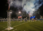 The Nevada team takes the field against Colorado State in an NCAA college football game in Reno, Nev., Saturday, Oct. 27, 2018. (AP Photo/Tom R. Smedes)